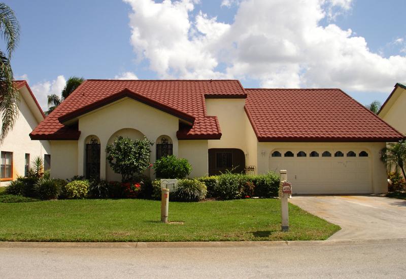 Streamline enterprises inc roofing siding insulation for Metal roof that looks like spanish tile
