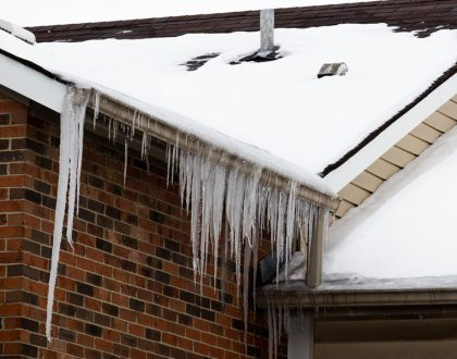 Icicles and Ice Dams