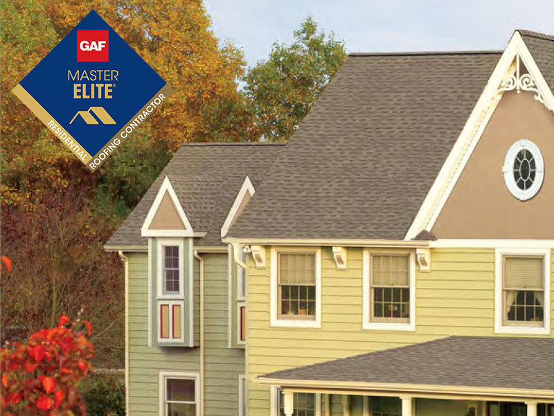 GAF Shingles Master Elite Contractor