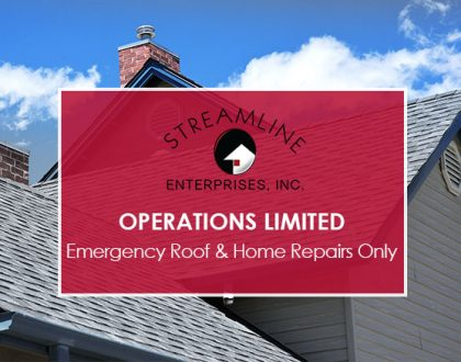 Operations Limited –  Emergency Roof & Home Repairs Only